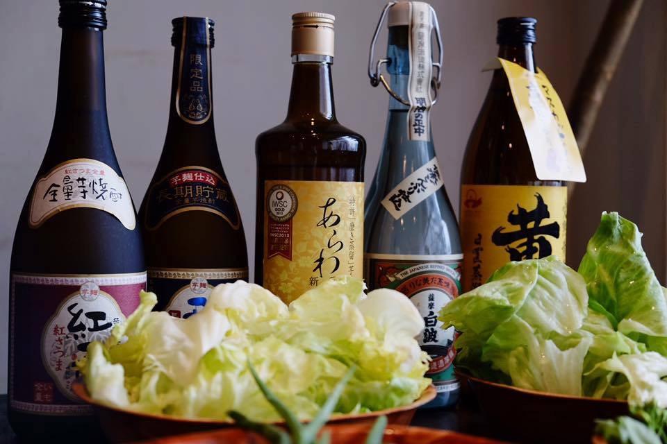 「色と食の旅プロジェクト」ターメリックホリデー焼酎スタイリストyukikoさんプロデュース本格焼酎イベント
